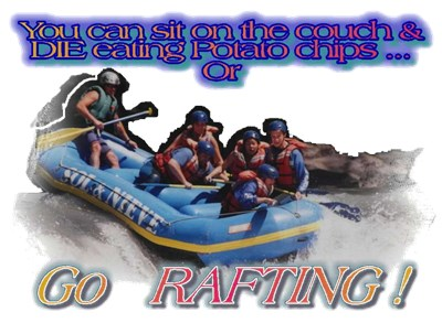 Go Rafting t-shirt shop