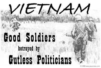 Vietnam Good Soldiers Gutless Politicians Products
