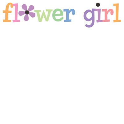 Flower Girl with Daisy T-Shirts