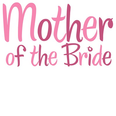 Cool Country Mother of the Bride Pink T-Shirts