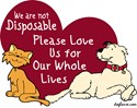 Not Disposable