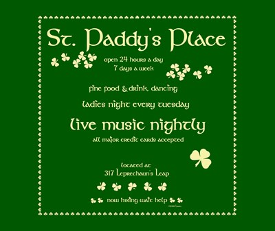 St. Paddy's Place Too