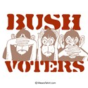 BUSH VOTERS