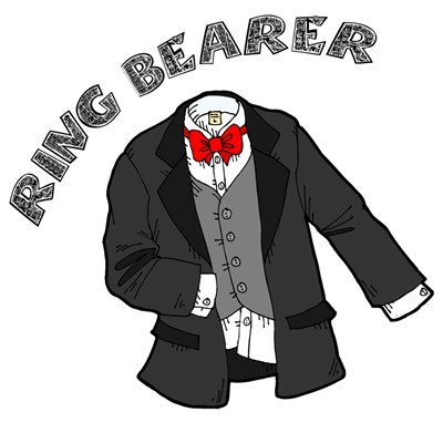 Tux for Ring Bearer T-shirts & Gifts