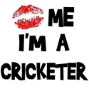Kiss Me I'm A Cricketer T-Shirts & Gifts