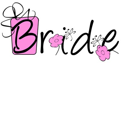Pink Lady Bride T-shirts and Bride Gifts