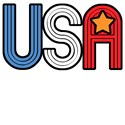 Retro USA with Star Patriotic T-Shirts & Gifts