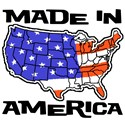 Made in America Patriotic T-Shirts & Gifts