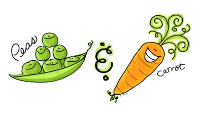 Peas and Carrot