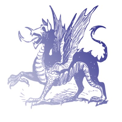 Purple Dragon black shirt