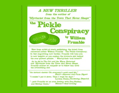 The Pickle Conspiracy