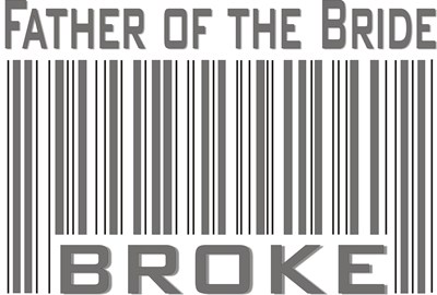 Funny Father of the Bride Broke T-shirts & Gifts