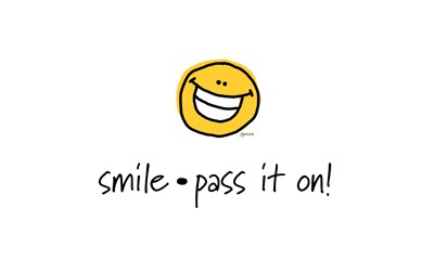 smile pass it on