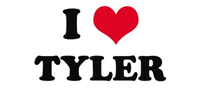 I HEART TYLER T-SHIRTS