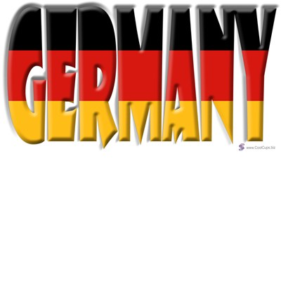Word Art Flag Germany Coolcups International Store