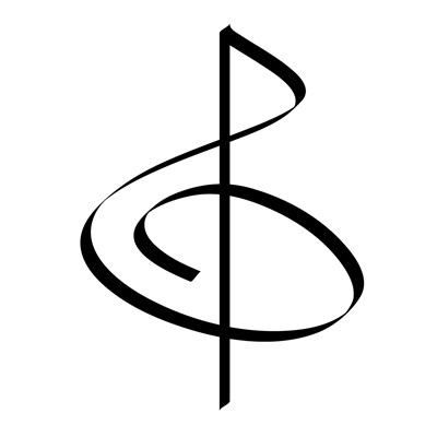 Brushstroke Treble Clef WEAR