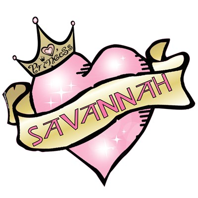 Sweetheart Savannah Custom Princess