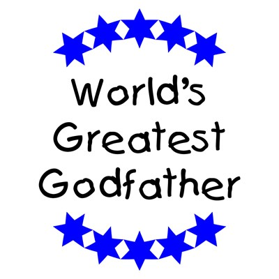 World's Greatest Godfather (blue stars)