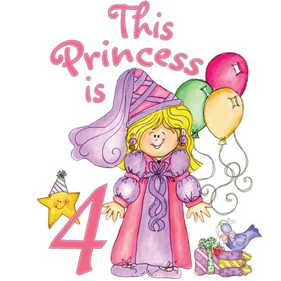 Princess 4th Birthday