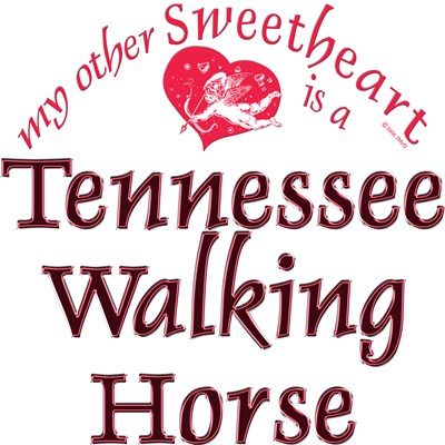 Tennessee Walking Horse Sweetheart