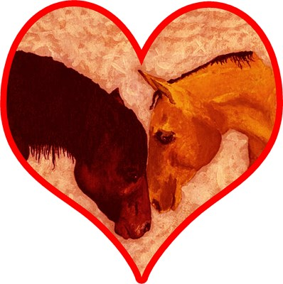 Pals Valentine's Day Horse T-shirts, Gifts