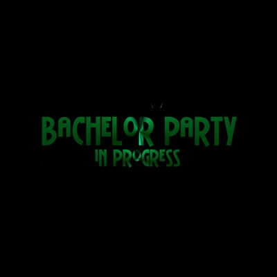 Bachelor Party In Progress - Green