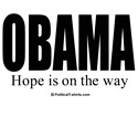 OBAMA: Hope is on the way