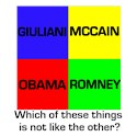 Which of these things...Republican