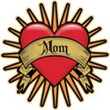 Red Heart Tattoo Mom Mother T-shirts & Gifts