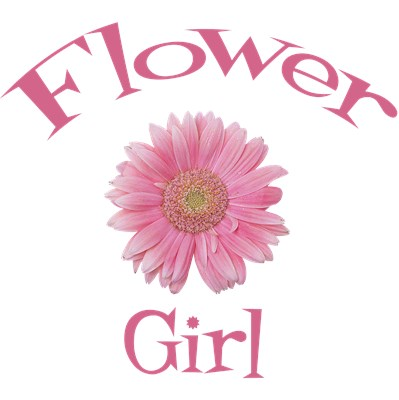 Flower Girl Wedding Apparel Gerber Daisy