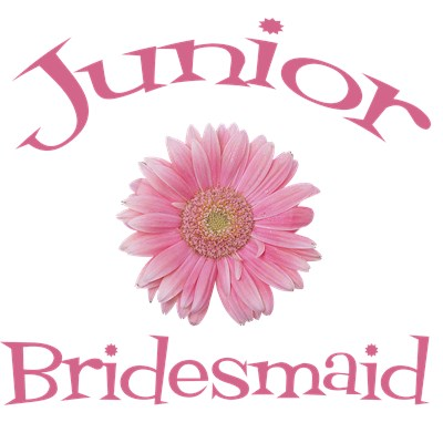 Junior Bridesmaid Wedding Apparel Gerber Daisy