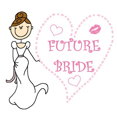 Brunette Future Bride