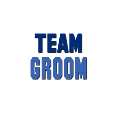 Blue Team Groom T-shirts and Apparel