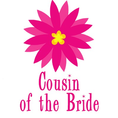 Cousin of the Bride Wedding Apparel Fun Flower