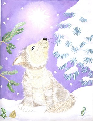 wolf cards/postcards