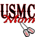 USMC Dog Tag Mom