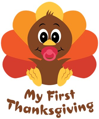 ... Cute Cartoon Clipart Picture Of A Turkey Trying To Get People To Eat