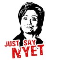 Anti-Hillary: Just say nyet