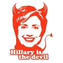 Hillary Clinton is the devil