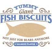 Yummy, Giant Fish Biscuits