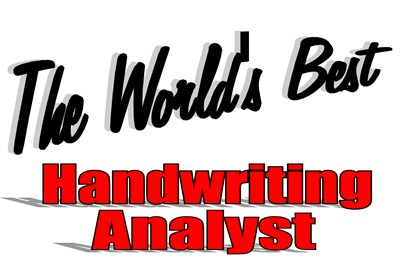 The World's Best Handwriting Analyist