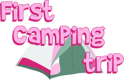 The First Camping Trip is the most important one, so make sure to take lots of pictures of your little camping girl!