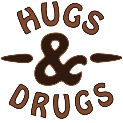 Hugs & Drugs tee shirt from BurnTees.com