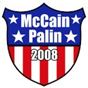McCain Palin 2008 Shield