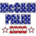 McCain Palin Land of the Free T-shirts