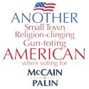 Another American for McCain Palin