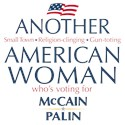 American Woman for McCain Palin