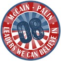 McCain Palin Leaders Believe in T-shirts Gifts