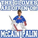 McCain Palin The Gloves are Off in '08 T-Shirts