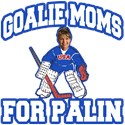 Goalie Moms for Palin T-Shirts